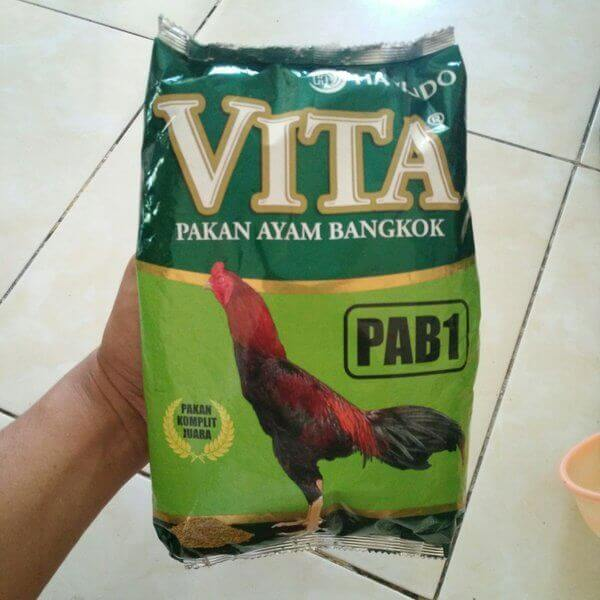 Pakan Anak Ayam Bangkok VITA PAB1